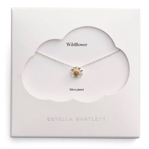 New Estella Bartlett Wildflower Necklace